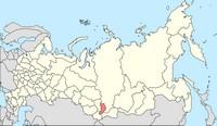 Республика Хакасия (карта из Википедии)