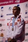 обладатель Большого Кубка мира-2012 в боулдеринге Рустам Гельманов